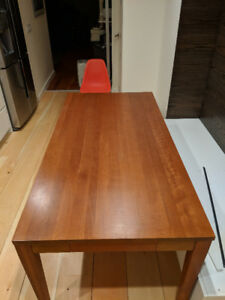 Mission style dining table for sale