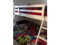 Triple bunk bed/triple wardrobe for sale