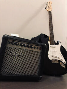 Academy Amp and Guitar