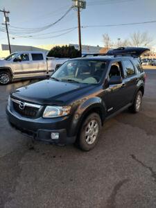 2008 Mazda Tribute SUV winter tire ready for winter