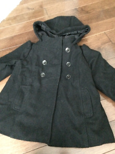 Girls pea coat Size 4