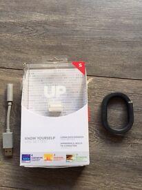 Jawbone Up Black Fitness Tracker Small