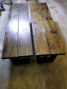 Brand New Farmhouse style benches.