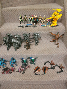 Vintage collection of Alien Movie toys action figures