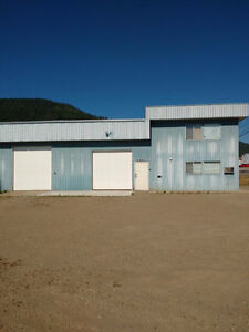 Commercial Bay & Office for rent Salmon Arm Industrial Park