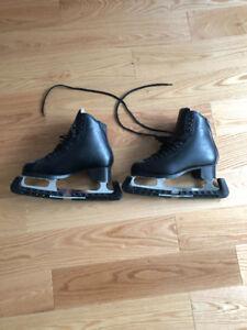 Black Male Figure Skates 7.5