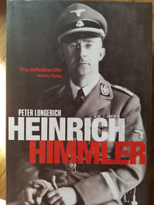 Books on THIRD REICH NAZI leader biographies war criminals