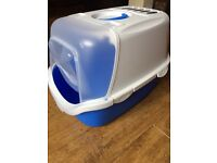 Cat Litter tray / hooded - easy clean (collect from Tarleton)