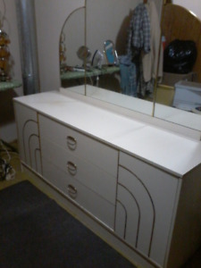 Dresser and 2 Night tables