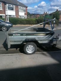 Daxara 197 tipping trailer