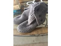 Grey knitted UGG boots size 3.5