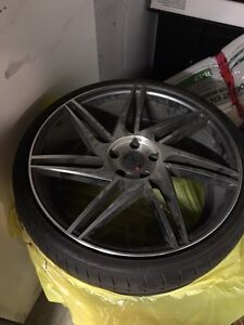 20 inch diamon mags and tires