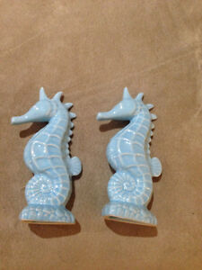 Sea horse cake toppers/ shakers