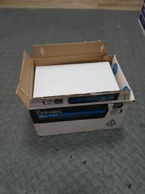 White tiles - 200x250mm