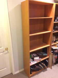 Bookcases by IKEA with 4 shelves