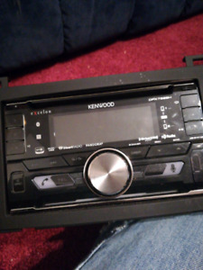 Kenwood eXcelon dual din car receiver DPX792BH