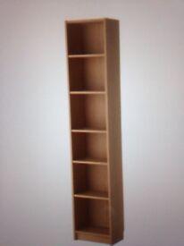 Billy bookcase from IKEA oak veneer