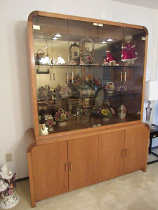 Dining table , chairs, buffet and hutch, end and coffee table