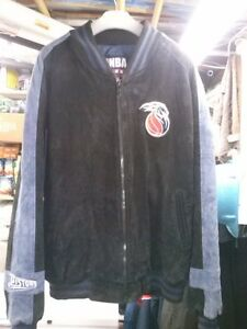 DETROIT PISTONS SUEDE LEATHER JACKET LIKE NEW 2 - 3XL