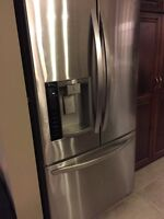 """LG stainless Steele FRENCH DOOR FRDIGE - NOT WORKING 36"""""""