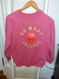 Next girls sweater .