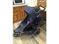 Phil & Teds Sport Double Buggy + loads of extras