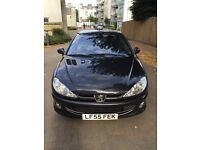 Peugeot 206 CC for sale due to relocation