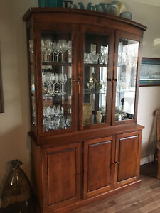 Canadel buffet and hutch