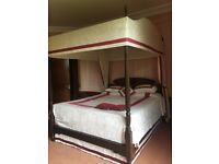 Beautiful Antique Queen Four poster bed
