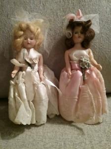 1950's Bride & Bridesmaid