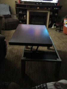 Great 3 pc  table set for the living room or basement !