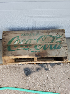 Coca Cola Wooden Crates