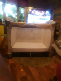 graco classic Electra travel cot for sale