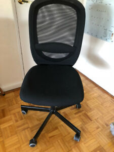 Swivel desk chair, Ikea Flintan - like new
