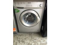 New Graded Bush 6kg Silver Washing Machine