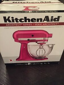 Kitchenaid - Arcitect Series - 5 Quart Tilt-Head – Rasberry