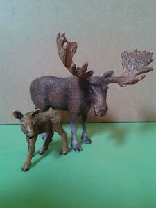 Schleich Toy Collection - Moose Family