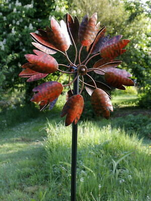 Hampton Wind Sculpture Burnished Gold