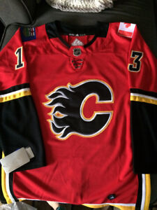 Brand New Gaudreau Jersey Red XLARGE