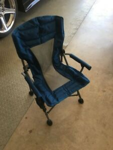 NATURAL GEAR JUNIOR FOLDING CHAIR:  USED ONCE