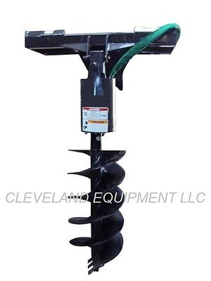 NEW EARTH AUGER DRIVE ATTACHMENT Skid Steer Loader Hydra Mac Volvo Caterpillar