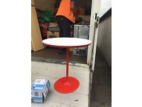 Red design table