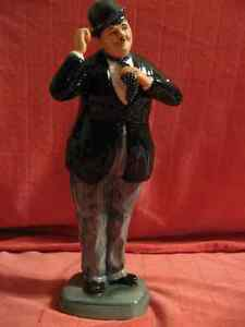 Laurel & Hardy Royal Doulton figurines
