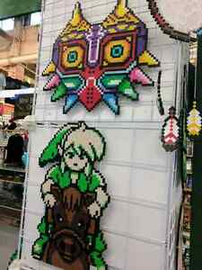 Legend of Zelda and other video game related pixel art