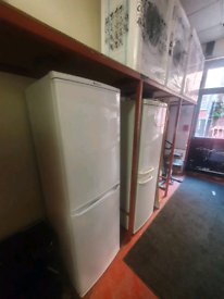Talk Hotpoint fridge freezer £150-3 months warranty fully reconditione