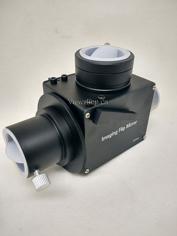 Imaging flip mirror for telescope with M42 T adapter