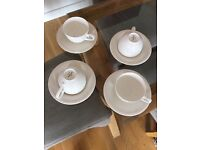 Villeroy and boch cups and saucers
