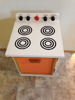 Wooden Stove Toy