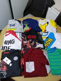 Bundal of boys cloths aged 7/8
