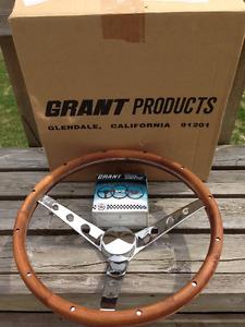 Grant Custom Steering Wheel